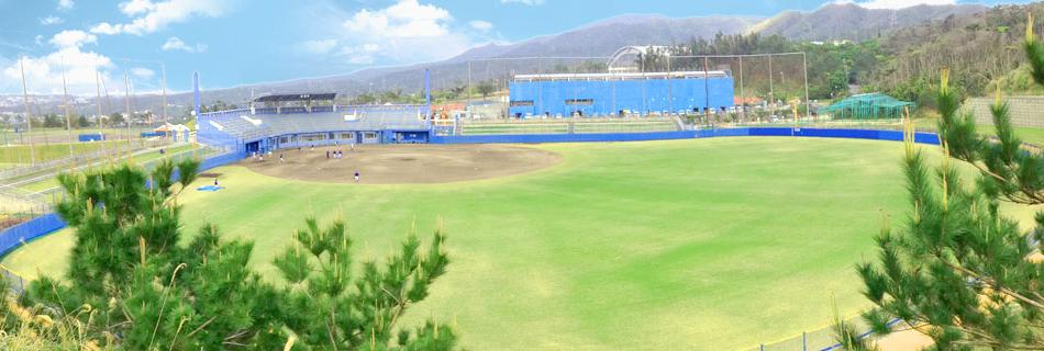 野球場(ONNA赤間ボール・パーク)
