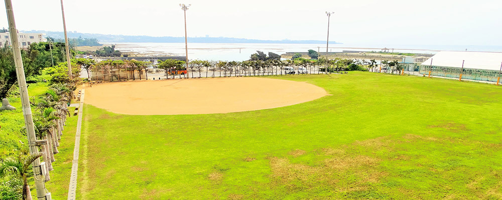 真栄田漁港運動公園広場